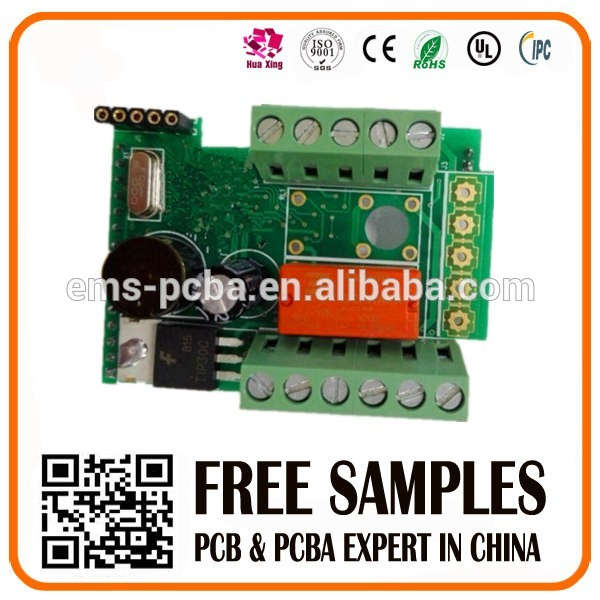 Tcp/ip Four Door Access Control Panel/ Board/PCB manufacturer/PCB assembly