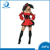 CSP-212 Cosplay Red Ladies Pirate Sexy Fancy Dress Costumes