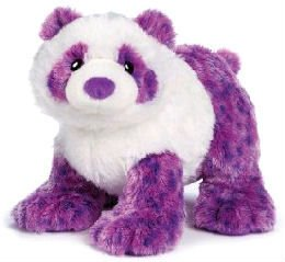 super soft plush panda purple panda