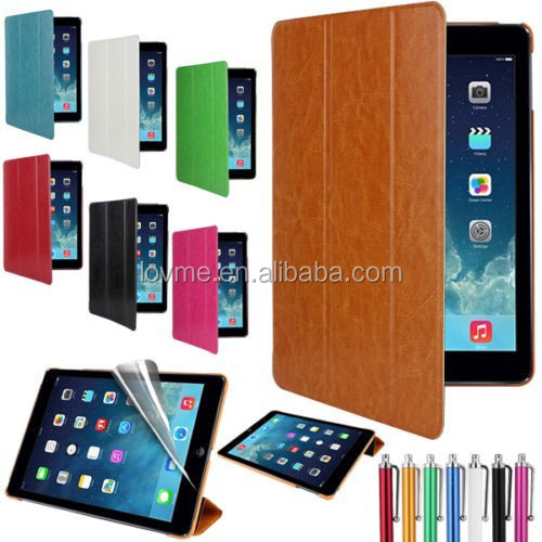 Ultra Slim Magnetic Leather Smart Cover Case For iPad Air 2 Case