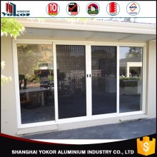 shanghai Factory Price double glazed aluminum doors and windows designs sliding door type