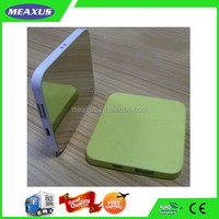 Ultra-thin Stainless Mirror 2000mAh Power Bank Portable Travel Charger Mobile Phone Power Backup Battery