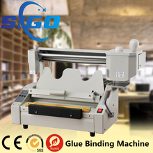 SG-TB03 hot glue book binding machine exercise book binding machine photo book binding machine