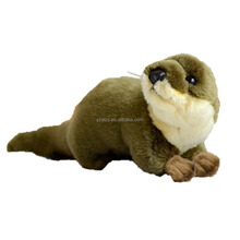 Adorable Plush Otter Beaver Toy Stuffed Animal
