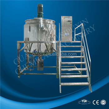 high speed agitator blade chemical mixing tank