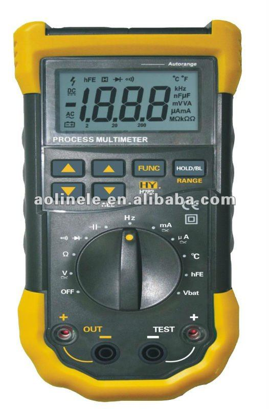 5 in 1 Autorange Digital Multimeter with Alarm
