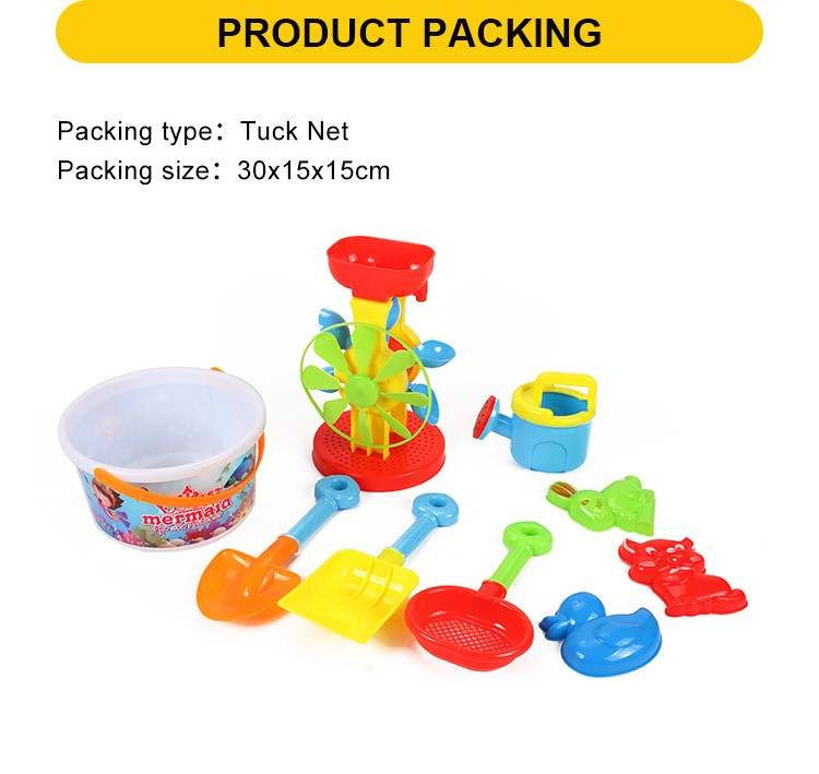 Kids Plastic Sand Playing Set Educational Beach Sand Toys