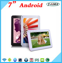 7 inch Android Tablet With Allwinner A33 Quad Core 1.3GHZ/Blutooth/Camera/8GB Memory