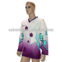 2013 Sublimation wholesale custom blank hockey jerseys