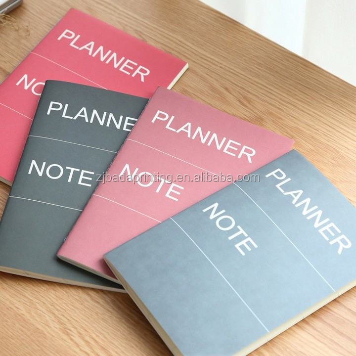 Study Exercise Book Planner Diary Notebook Wholesale, School Paper Notebooks