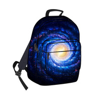 2014 Unisex outdoor durable hunting waterproof pack back bag printing galaxy stars