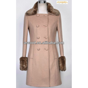 Good Quality Women Coats With Fur Collar