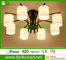 Decorations new modern American style drop light clear glass pendant light for dining room