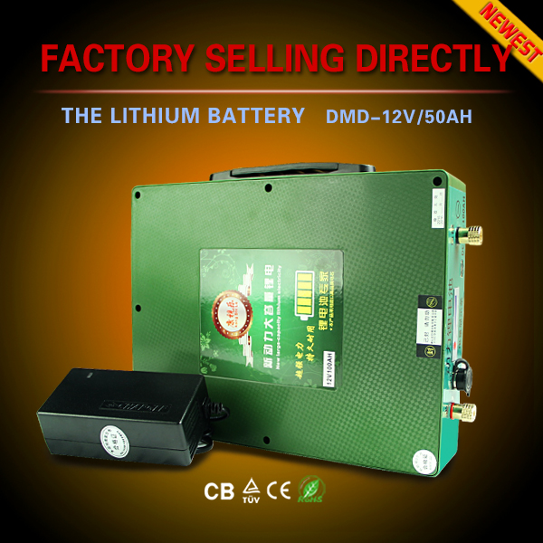 Innovative deep cycle only 3.5KGS 12v 50ah 100ah 200ah lithium battery for solar storage with 10A/h battery charger