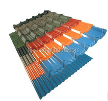 Alibaba prepainted corrugated galvanized steel Sheet / galvalume sheet metal / colored aluzinc roofing sheet price per sheet