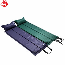 Yiwu cheap outdoor camping mattress travelling hiking trekking sleeping pad military camping inflatable mat