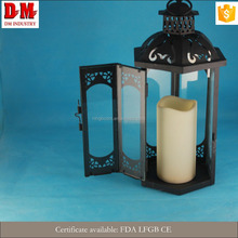 Party Favor Attractive New Style Glass Lantern with handle