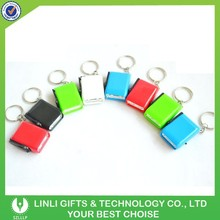 Custom logo mini led dynamo wind up torchlight
