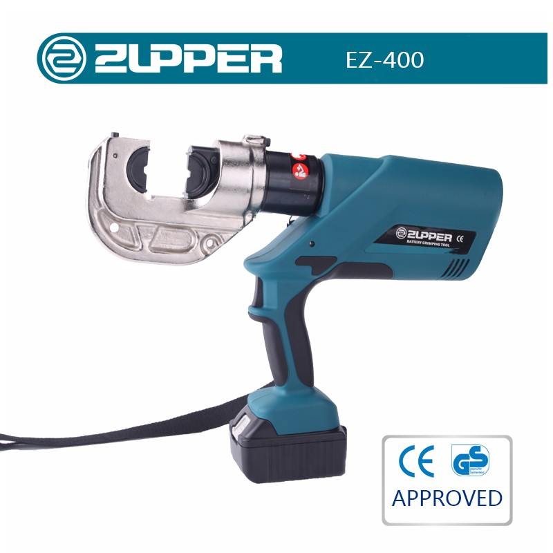 ZUPPER EZ-400 plumbing crimping tool hydraulic wire rope crimping tool electrical wire crimping tool
