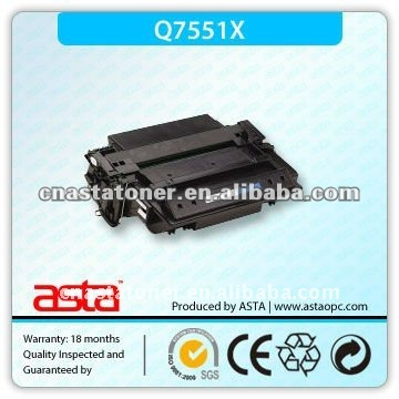 New printer toner cartridge For HP Q7551X