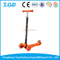 Fashion Practical kid kick scooter two footed scooter for children