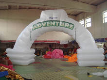 Products advertising inflatable arch/arch door/archway/entrance/model for Promotional W535