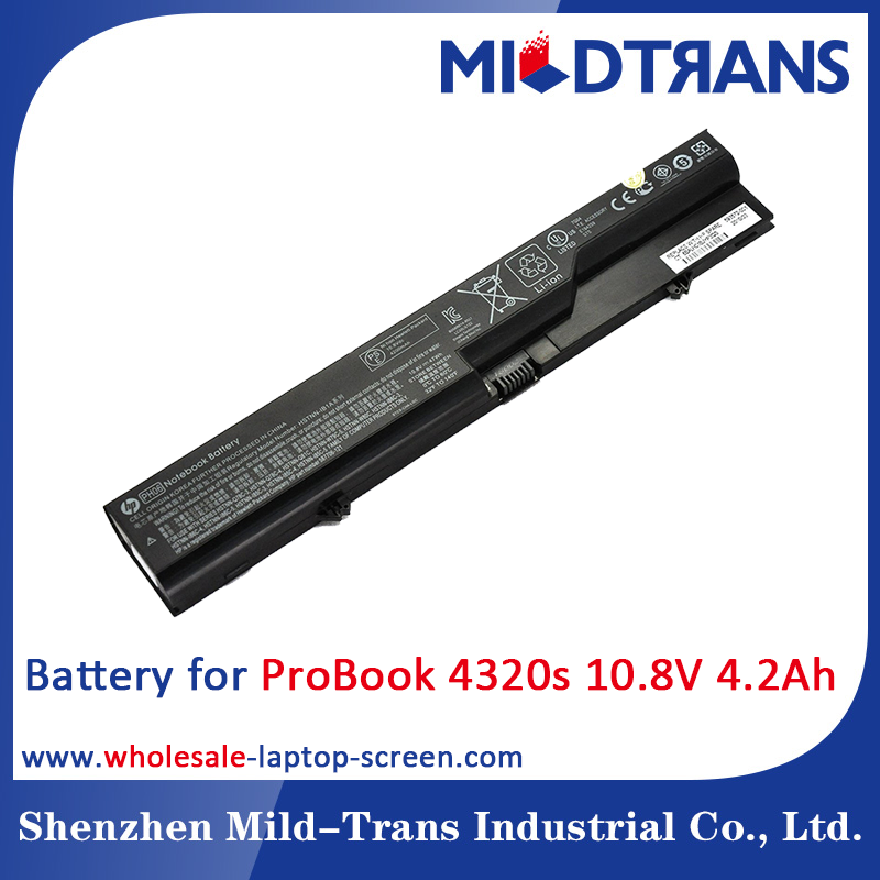 Original notebook battery for HP Compaq 621 620 320 321 420 421 ProBook 4320s 4320t,47Wh PH06 laptop battery