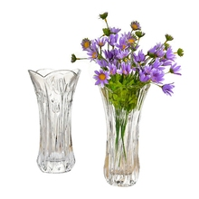 Home Decorative Crystal Glass Vase for Wedding Centerpiece/Hotels
