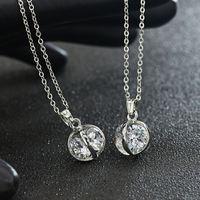 2017 24 karat gold necklace simple design necklace chain