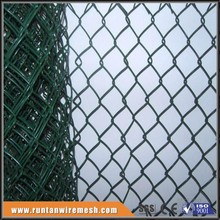 trade assurance cheap used 6ft pvc coated factory chain link fencing