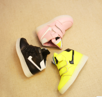 New Kids Fashion LED Light Shoes PU Leather Casual Boy&Girl Toddler Shoes Luminous Antiskid Bottom Children Sneakers /Little Kid