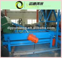 tire shredder waste tyre recycling machine vibrator