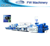 best selling PVC double pipe making machine