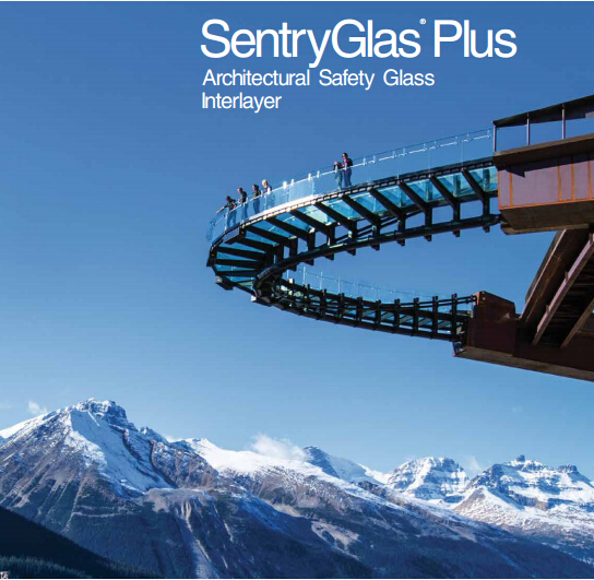Dupont Sentryglas/PVB laminated glass stair