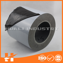 Self adhesive white opaque plastic film for stainless steel protection