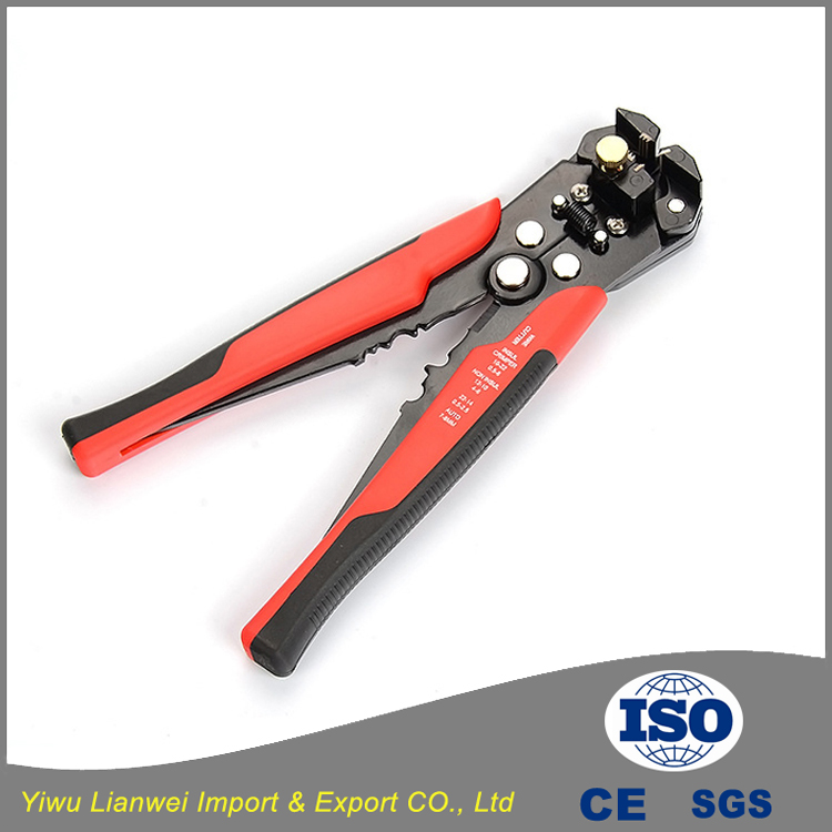 "High quality hot sale 8"" wire stripper and cutting pliers automatic wire stripper of electric cable"