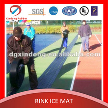 high performance china roller skating ice rink pvc flooring hose strip mat