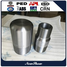ISO9001 standard forged carbon steel A105 NPT male bull plug