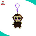 Cute keychain soft stuffed plush monkey keychain