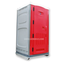 Flush western style HDPE red bio toilet,wholesale portable chemical toilet