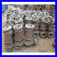 WQ type electric non-clog submersible sewage pump