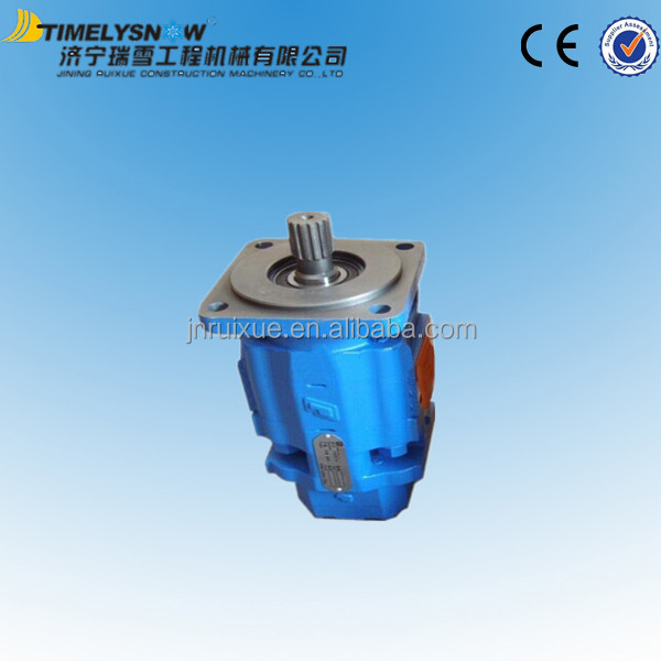 steering hydraulic system parts gear pump 803004079 for zl50g wheel loader