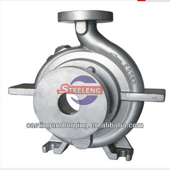 investment casting pump body