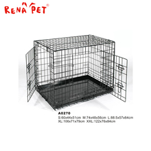 Factory price wholesale stainless steel dog cage