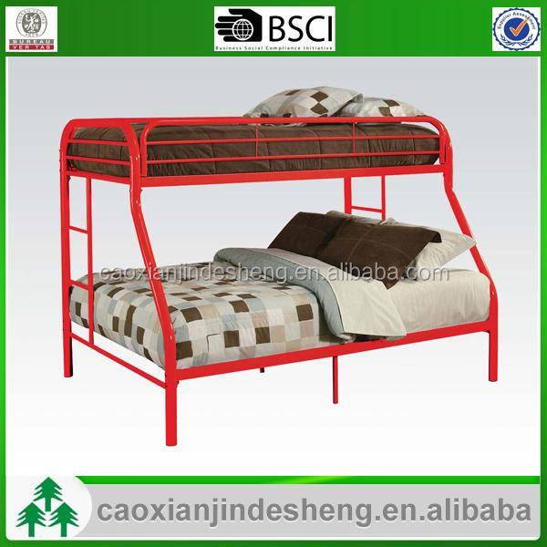 Hot sale metal triple bunk bed buy cheap metal triple for Metal bunk beds for sale cheap