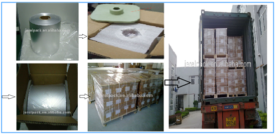pharmaceutical alu alu foil for packing medicine