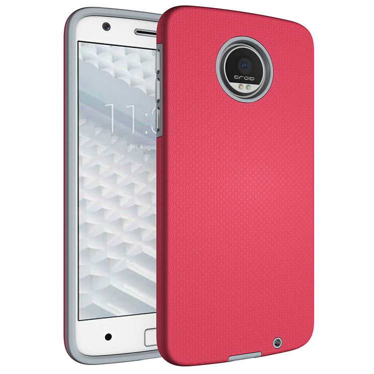 Armour 2 In 1 Hybrid TPU+PC Anti-knock Case Back Cover For Moto G4/G4 Plus/G4 Play/Z/Z Droid P-28