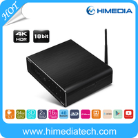 Himedia New Oroducts Model Q10 Pro Android set top box with WiFi