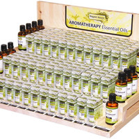3 Tiers Wooden Essential Oil Display