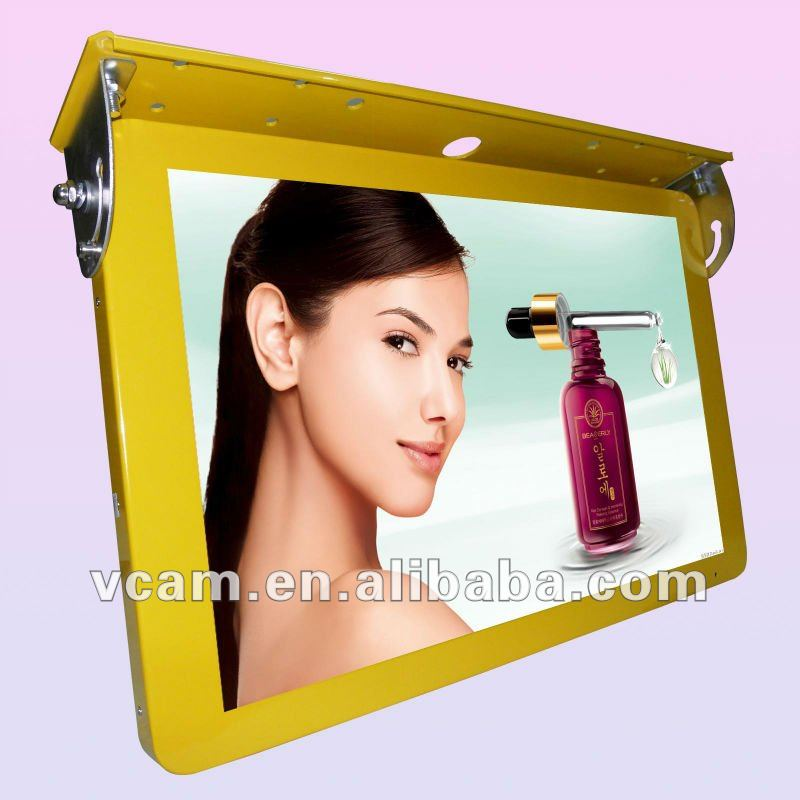 "22""Roof Fixing TFT 3G/Wifi Wireless Network Bus LCD Digital TV Screen"